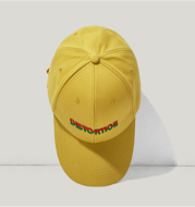 Letter embroidery hat