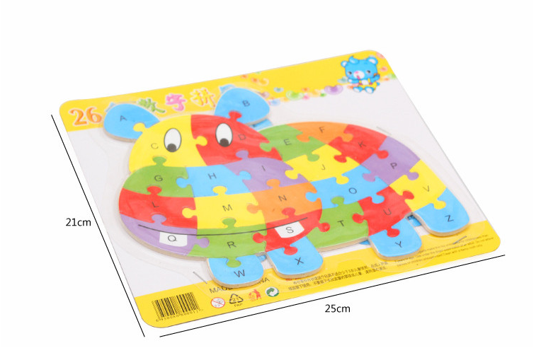 Wooden Animal Puzzle Toy