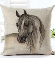 Horse pattern pillow pillowcase