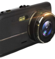 Front and rear double lens reversing image monitoring