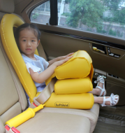 Children's inflatable car seat