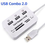 USB 2.0 HUB Hub Multi-Card Reader