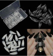 French nail clips