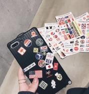 Mobile phone case sticker travel case cover