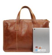 Male bag real leather men's handbag