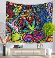 Psychedelic Doodles Tapestry
