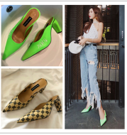 Pointed women's shoes