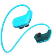 Headphone player sports running