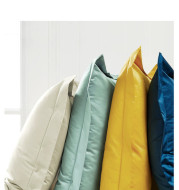 Cotton embroidery pillowcase pair