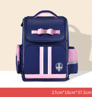 Kk tree school bag primary school girl 6-12 year old child 1-3-6 grade girl backpack shoulder ridge reduction