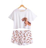 Puppy  T-Shirt + Shorts Set