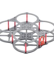 130 racks through the H130 rack Q4 butterfly carbon fiber four-axis rack with protection ring / anti-collision ring