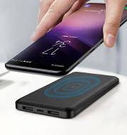 Wireless charging dual USB charging treasure 10000mAh