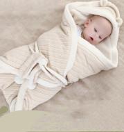 Newborn lambskin warm blanket