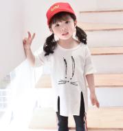 Split 7-point sleeve children's wear