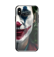 Clown tempered glass protective phone case