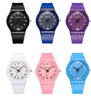 Simple leisure waterproof quartz female watch