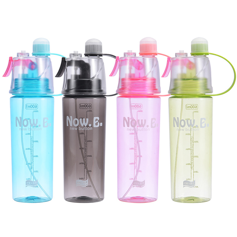 Bottle - Outdoor sports spray cup