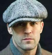 British style octagonal hat