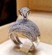 Flash Diamond Engagement Ring