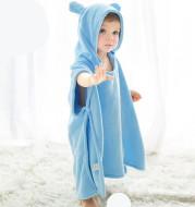 Children's bath towel cape