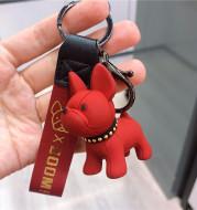 Dog Car keychain
