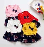Children's net yarn princess skirt
