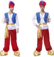 Cosplay Aladdin magic lamp prince costume