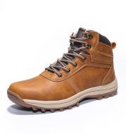 Warm hiking shoes with fleece