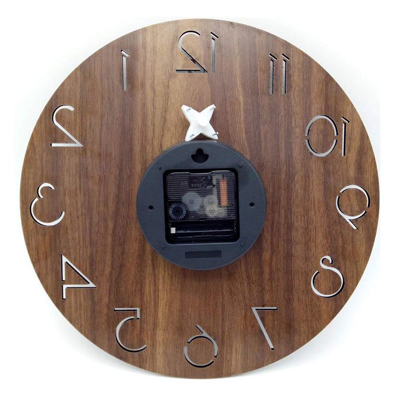 Wooden Wall clock fetures