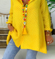 super beautiful, loose and long-sleeved blouse