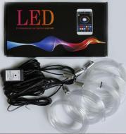 5 in 1 led fiber optic RGB lighting