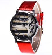 New Watch Women Fashion Leather Band