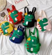 Happy Crown Dinosaur School Bag Backpack