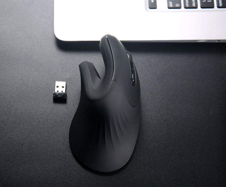 Wireless Vertical Mouse 6 Buttons with Adjustable DPI