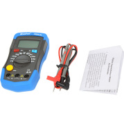 Capacitance and inductance meter backlight display