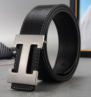 New fashion net red h-buckle belt