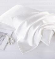 Ice silk imitation silk 48x74cm pillowcase
