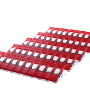 New Lot 50pcs Plastic Red Wonder Clips for Fabric Quilting S
