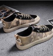 Men's Casual Canvas ShoesUpper material: artificial PU