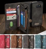 Vintage split leather phone case
