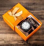 2pcs/set Quartz watch belt bracelet set