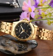 Luxury Brand Man Gold Dress Watches Stainless Steel