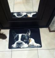 Pattern custom floor mat office living room non-slip door mat foot pad