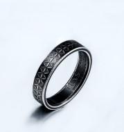 Punk Gothic Titanium Stainless Steel Men's Ring