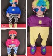 Complete set of villain dance costumes