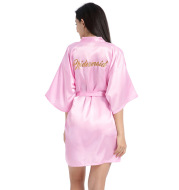Bridesmaid dressing gown