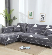 L shaped Sofa Cover Stretch Sectional Couch Cover Sofa Set