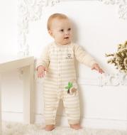 Newborn one-piece cotton dress