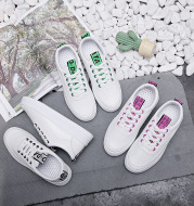 Breathable women Sneaker student casual canvas shoes